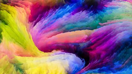 Colorful Paint Paths