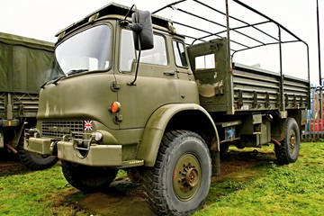 green army truck