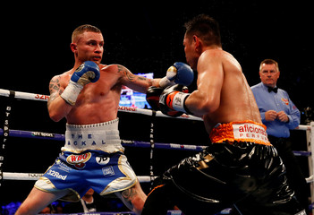 Carl Frampton v Nonito Donaire - WBO Interim Featherweight World Title