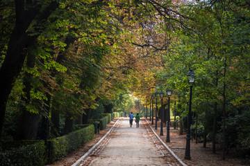 Parque del Retiro, Madrid, Espagne