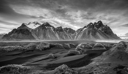 Icelandic Landscape, Vestrahorn Mountains Wall mural