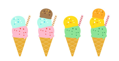 アイスクリーム セット