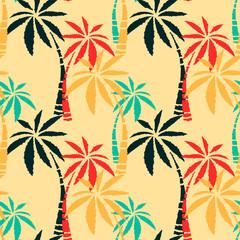 Summer seamless pattern