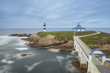 Illa Pancha lighthouse (Ribadeo, Lugo - Spain).