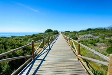 Monumento Natural Dunas de Artola-Cabopino, Marbella, Andalusia, Spain