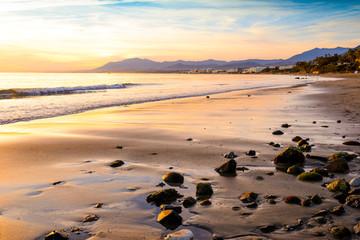 Playa del Pinillo, Marbella, Andalusia, Spain