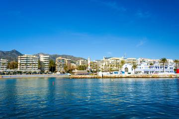 Playa de la Fontanilla, Marbella, Andalusia, Spain