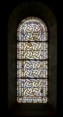 vitrail celtique d'église