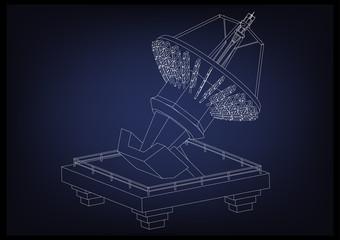 3d model of an antenna