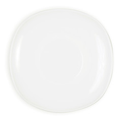 White saucer isolation