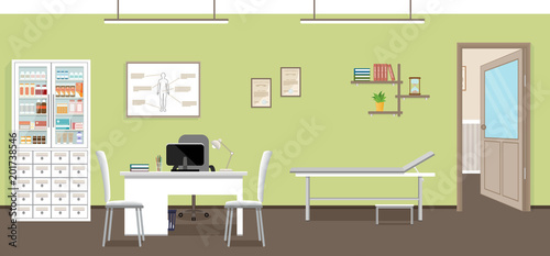 Amazing Doctors Consultation Room Interior In Clinic Hospital Download Free Architecture Designs Embacsunscenecom