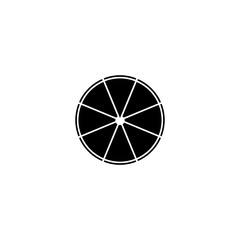 pizza icon. sign design