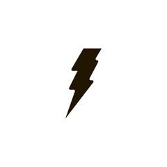 bolt icon. sign design