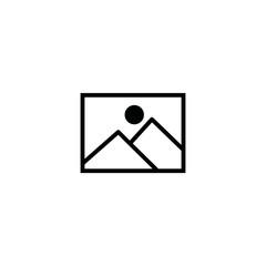 picture icon. sign design
