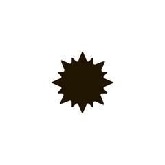 explosion icon. sign design
