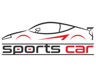 Wall Mural - Logo - Motorsport / Autowerkstatt / Autohaus