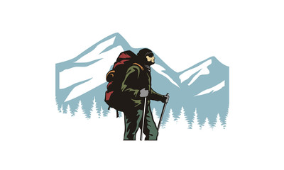 Backpacker / Adventure clipart