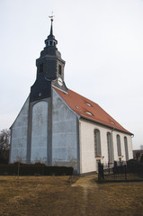 The vertical picture of church