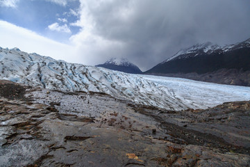 Glacier trekking on the Grey Glacier, Torres del Paine National park, Chile