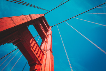 Canvas Prints San Francisco Golden Gate Bridge, San Francisco, USA