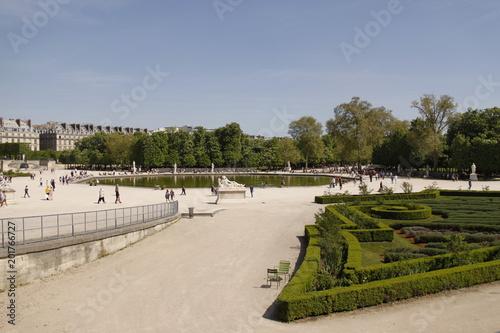 Paris - Jardin des Tuileries\