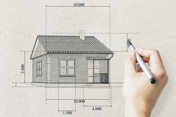 Real estate and mortgage concept