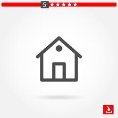 homepage vector icon