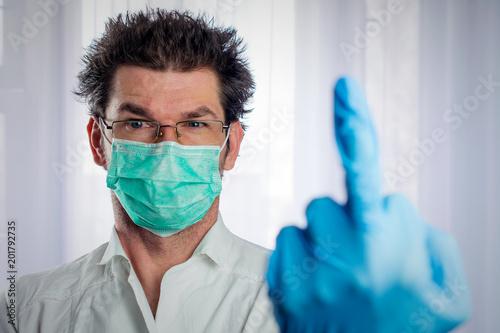 Weird Doctor Stock Photo 8