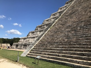 Teotihuacan. Pyramid and ancient.