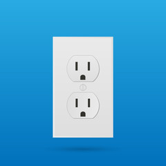 Power Outlet Illustration