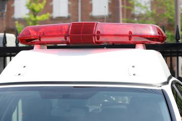 パトカー 警察 赤色灯