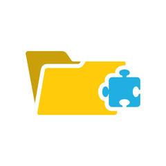Puzzle Folder Icon Design
