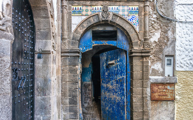 An Old Town Architectural Piece in one of Morocco town