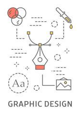 Graphic design illustration.