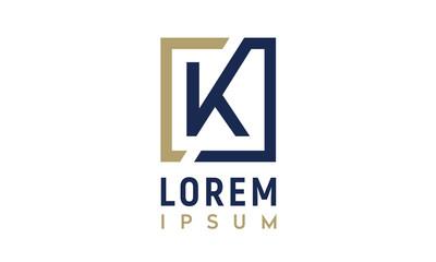 Monogram K/ Initial K for logo design inspiration