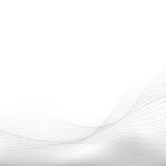 Grey soft blend fantasy lines abstract layout design