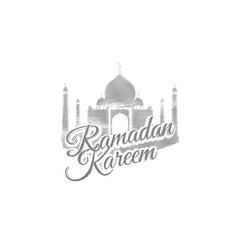 Ramadan Kareem. Vector religious illustration.