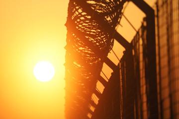 Airport Security Perimeter Fence