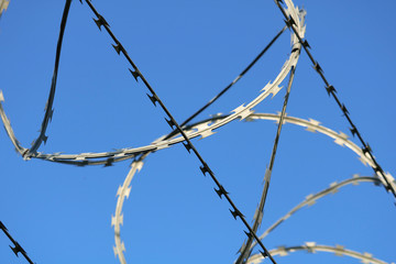 Razor Wire Security Fence