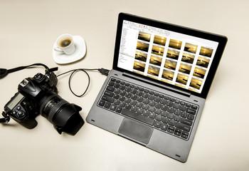 Postproduzione fotografie