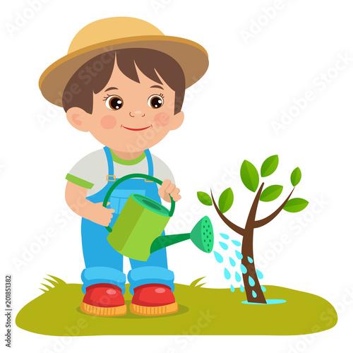 Картинки по запросу a gardener cartoon