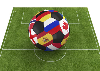 World Championship Ball - 3D