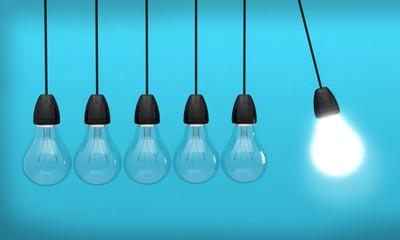 ampoule idée lumière innovation créativité