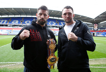 Sam Sexton & Hughie Fury Press Conference