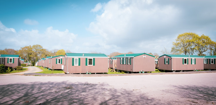 Camping economic mobile home park