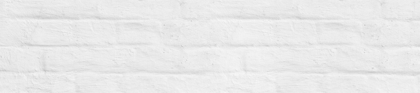 panorama old white whitewashed brick wall