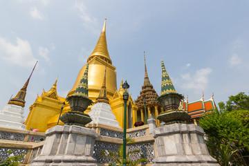 Wat Phra Kaew ,Temple of the Emerald Buddha ,full official name Wat Phra Si Rattana Satsadaram in Bangkok ,Thailand