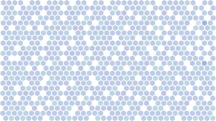 Blue hexagonal background. Abstract hexagon pattern. Vector illustration AI10
