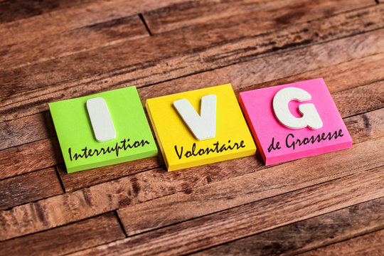 post-it acronyme : IVG