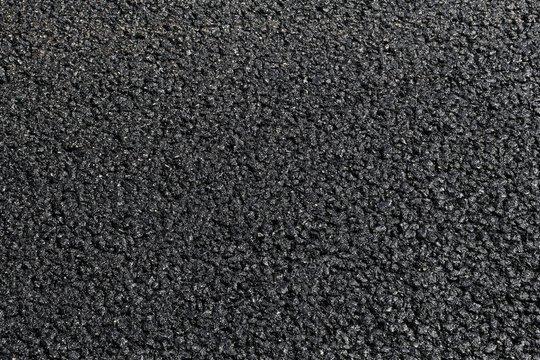 Fresh blacktop surface
